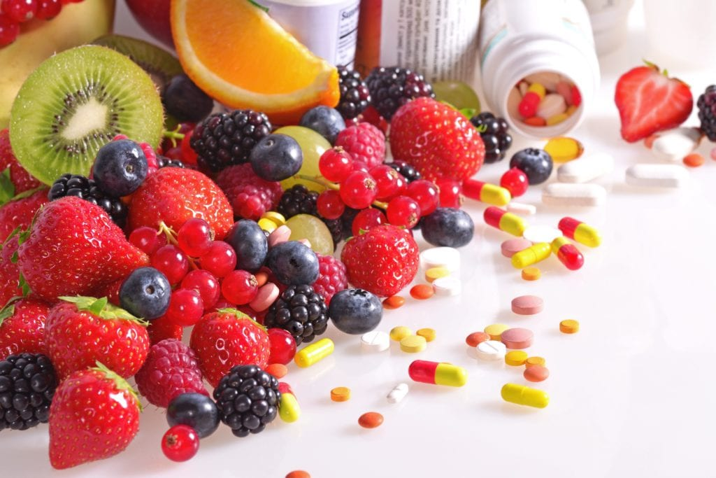 Fruits and nutritional supplements
